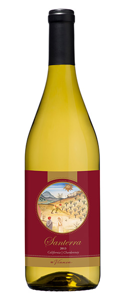 2013 Santerra Chardonnay, California, 750ml