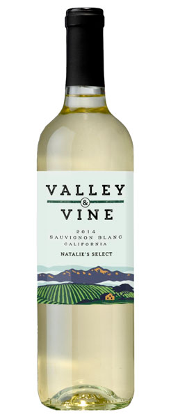 2014 Valley & Vine Sauvignon Blanc, California, 750ml
