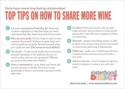 Tips of Promoting Wine