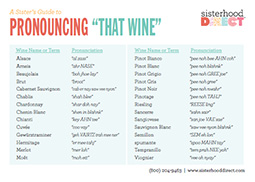 Tips on Promoting Wine Printable Guide